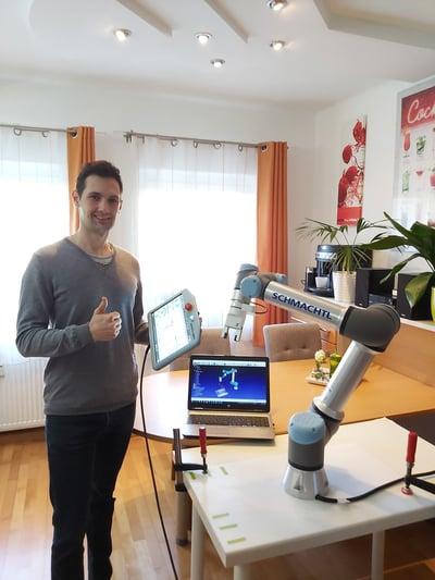 Roboter im Homeoffice